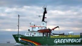 greenpeace nature sea perivallon