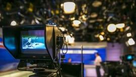 tv camera studio