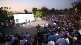 Το κοινό παρακολουθεί με αμείωτο ενδιαφέρον την εξέλιξη της εκδήλωσης
