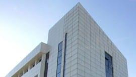 Γενική άποψη του νεοαναγερθέντος κτιρίου όπου θα στεγαστεί το Υπουργείο Παιδείας στο Μαρούσι, Δευτέρα 5 Μαρτίου 2007.