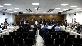Trial of golden dawn at Korydallos jail complex, on Sept. 29, 2015 / Δική χρυσής αυγής στις φυλακές Κορυδαλλού, στις 29 Σεπτεμβρίου, 2015