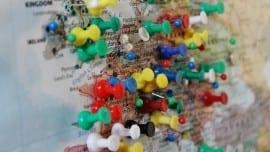 europe pins map xartes