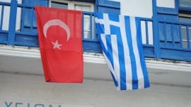 turkey greece flags simaies