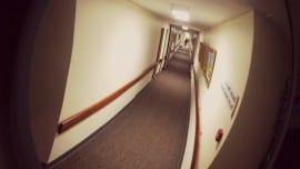 hospital corridor nosokomeio