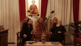 Ο Επικεφαλής του Κινήματος με τον Μητροπολίτη Ξάνθης και Περιθεωρίου κ. Παντελεήμωνα