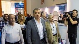 Σταύρος Θεοδωράκης, Νίκος Κυριακάκης μέλος του τομέας Ναυτιλίας του Ποταμιού.