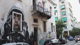 exarcheia athens street minimal