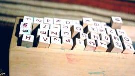 minimal letters