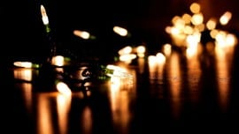 xmas lights minimal
