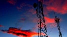 radio minimal sky