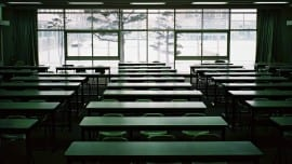 classroom, θρανία, τάξη, σχολείο
