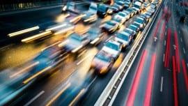 traffic jam road dromos minimal
