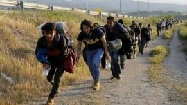 prosfuges metanastes prosfugiko refugees