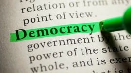 democracy minimal