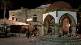 kos earthquake seismos