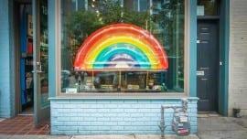 rainbow minimal