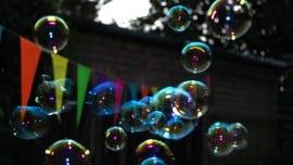 bubbles minimal