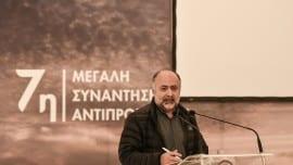 Ο Δημήτρης Τσιόδρας, εκπρόσωπος τύπου