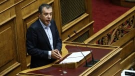Discussion and voting regarding the broadcasting stations licensing bill, at the plenary hall of the Greek parliament, on Oct. 24, 2015 / Συζήτηση και ψήφιση στην Ολομέλεια του νομοσχεδίου για τις τηλεοπτικές άδειες, στις 24 Οκτωβρίου, 2015