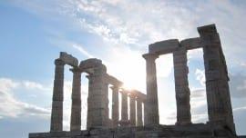 sounio monument