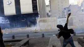 venezuela maduro riot