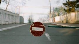minimal stop road