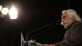Ο Γιώργος Γραμματικάκης στο βήμα του 3ου Συνεδρίου | φωτό: Θοδωρής Μανωλόπουλος
