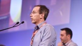 Ο Γιώργος Μαυρωτάς εξελέγη πανηγυρικά αντιπρόεδρος του  Ποταμιού  | φωτό: Αφροδίτη Χουλάκη