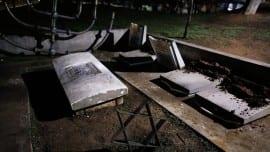 εβραϊκό νεκροταφείο, βεβήλωση